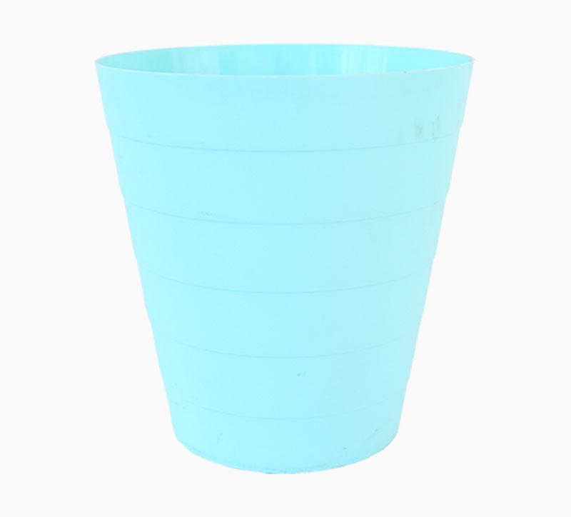 Molde de basura de 7 litros azul