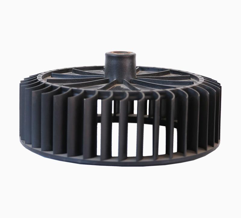 Molde de inyección de ventilador