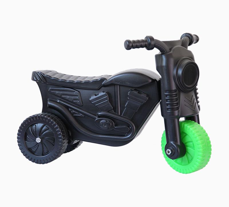 Molde soplador de motos de juguete para niños negro