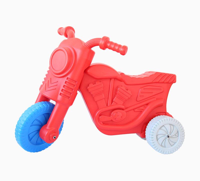 Molde soplador de motos de juguete para niños rojo
