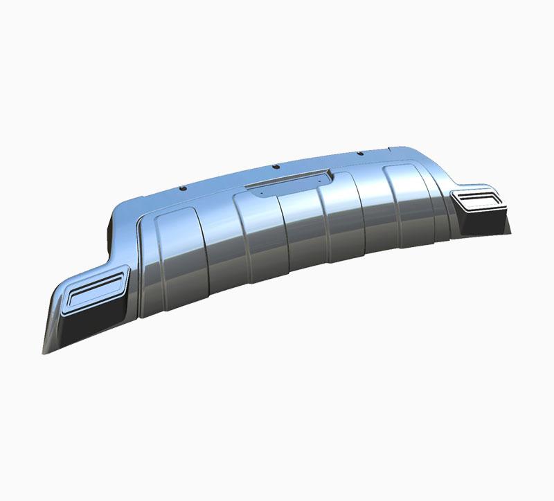 Molde de soplado de parachoques trasero de automóvil Wuling
