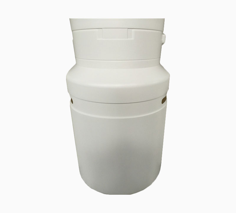 Centro de basura comercial de 90 litros de goma Mantos